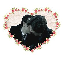Sheriarty kiss Photographic Print