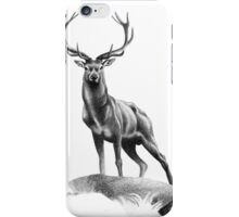 All Muscle - Red Deer Stag iPhone Case/Skin