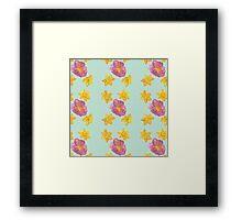 Las Flores de mi vida Framed Print