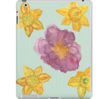 Las Flores de mi vida iPad Case/Skin