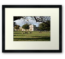 Studley Royal - The Stables Framed Print
