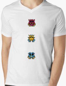Dr Mario Mens V-Neck T-Shirt