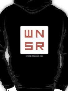 WNSR Zip-Up - Back logo T-Shirt