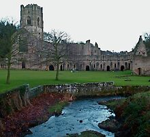 Fountains Abbey by dougie1
