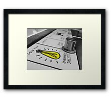 Electric Company - Monopoly Framed Print