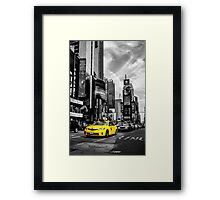 Big Yellow Taxi Framed Print