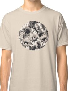 Sunflowers in Soft Sepia Classic T-Shirt