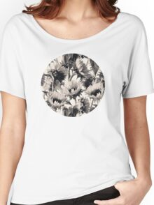 Sunflowers in Soft Sepia Women's Relaxed Fit T-Shirt