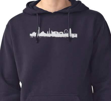 BUILDINGS OF THE WORLD Pullover Hoodie