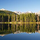 Sprague Lake in Colorado by Alex Cassels