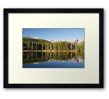 Sprague Lake in Colorado Framed Print