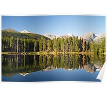 Sprague Lake in Colorado Poster