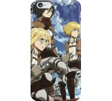 Christa Mikasa Armin iPhone Case/Skin