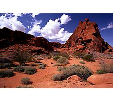 The Valley of Fire Photographic Print