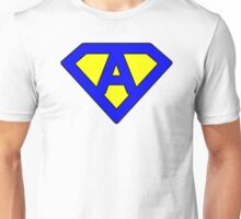 A letter Unisex T-Shirt