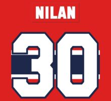 Knuckles Nilan #30 - red jersey Kids Clothes