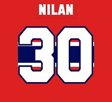 Knuckles Nilan #30 - red jersey Unisex T-Shirt