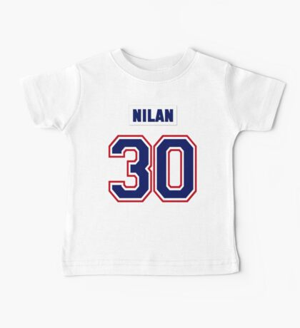 Knuckles Nilan #30 - white jersey Baby Tee