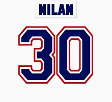 Knuckles Nilan #30 - white jersey Men's Baseball ¾ T-Shirt
