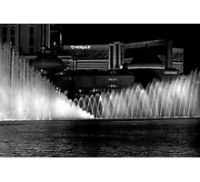 Showtime! The Bellagio Water Fountain Photographic Print