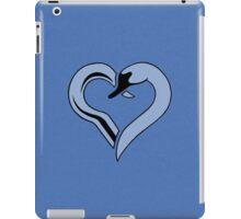 Captain Swan heart - blue iPad Case/Skin