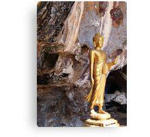 Cave Buddha Canvas Print