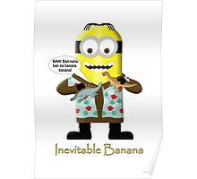Inevitable Banana (dinos) - Minion Poster