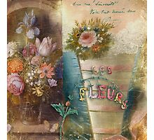 Les Fleurs Photographic Print