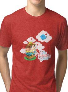Mr. Cute Valentine Tri-blend T-Shirt