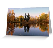 The Leaves of fall Greeting Card