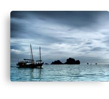 Two Master Canvas Print