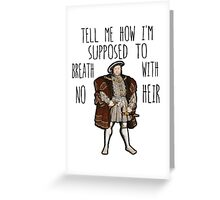 No Heir Greeting Card