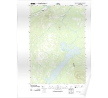 Maine USGS Historical Map Indian Pond North 20110831 TM Poster
