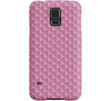 Pink Ribbon Tiled Pattern Samsung Galaxy Case/Skin