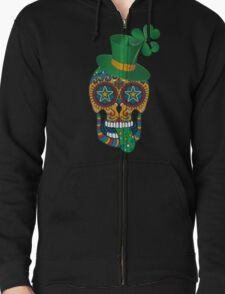 Irish Sugar Skull T-Shirt
