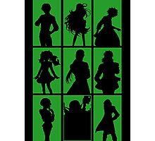 Tales of Xillia 2 - Character Roster (Green) Photographic Print