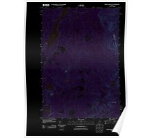 Maine USGS Historical Map Indian Pond South 20110902 TM Inversion Poster