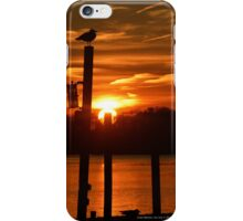 Sunset On Union Avenue | Center Moriches, New York  iPhone Case/Skin
