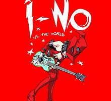 I-no vs the world by coinbox tees