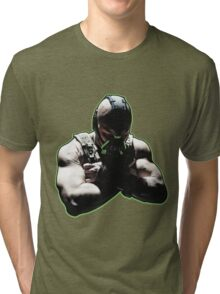 No One Cared Who I Was Until I Put On The Mask Tri-blend T-Shirt