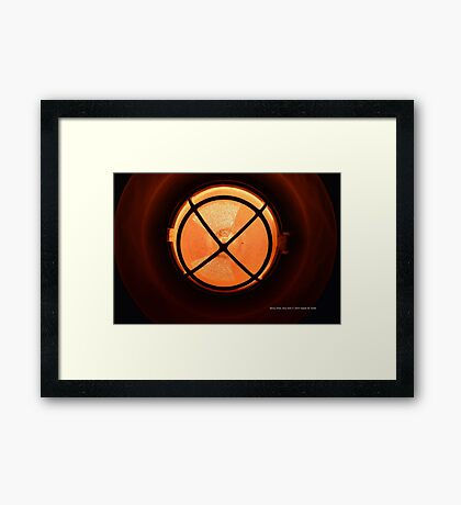 Beach Lamp Detail | Rocky Point, New York  Framed Print