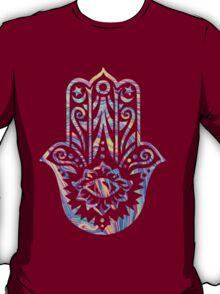 Rainbow Swirl Hamsa T-Shirt