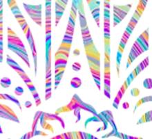 Rainbow Swirl Hamsa Sticker