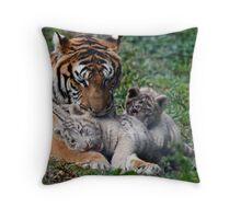 Family life Throw Pillow