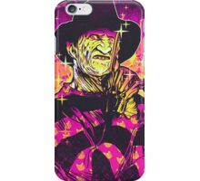 Neon Horror: Freddy  iPhone Case/Skin