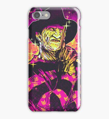 Neon Horror: Freddy  iPhone Case/Skin