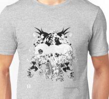 Skullz (Dubstep Skullz No Werdz) Unisex T-Shirt