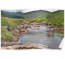 A River Runs Through The Highlands Poster