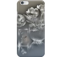 Tulips - lightpainted still life (alternate version) iPhone Case/Skin