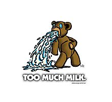 Too Much Milk Photographic Print